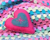 Shabby Chic Valentine — Stock Photo