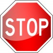 Traffic Sign - Stop — Stock Photo