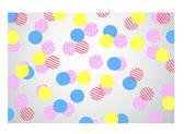 Multi colour Polka Dots — Stock Photo