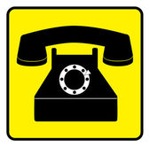 Telefon — Stok Vektör