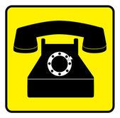 Telephone — Cтоковый вектор