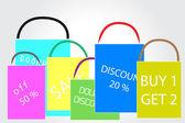 Loja de sacos de compras — Vetorial Stock