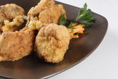 Crispy Fried Chicken — Stock Photo