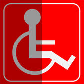 Simple symbol - disable — Foto de Stock