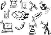 Telecommunication Signal — Stock Photo