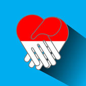 Peace for Indonesia — Stock Photo