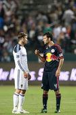 David Beckham & Rafa Marquez — Stock Photo