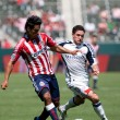 Stock Photo: Chivas USvs. New England Revolution match