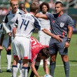 Chivas USA vs. New England Revolution match — Stock Photo