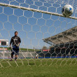 Chivas USA vs. Houston Dynamo match — Stock Photo