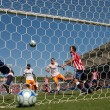 Chivas USA vs. Houston Dynamo match - Stock Photo