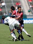 Chivas usa vs new england revolution corrispondere — Foto Stock