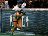 Los Angeles Temptation vs. Seattle Mist game — Stock Photo