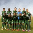 Stock Photo: MLS game between Portland Timbers & Los Angeles Galaxy