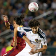 Major League Soccer game — Stock Photo