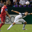 Major League Soccer game - Stock Photo