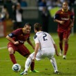 Major League Soccer game — Stockfoto