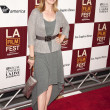 Sharon Lawrence arrives at the Los Angeles Film Festival premiere — Stock Photo