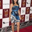 Erica Hubbard arrives at the Los Angeles Film Festival premiere — Stock Photo