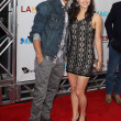 Ryan Guzman and Kathryn McCormick arrive at Warner Bros premiere - Stock Photo