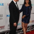 Matthew McConaughey and wife Camila McConaughey arrives at Warner Bros premiere — Стоковая фотография