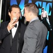 Matthew McConaughey and Channing Tatum arrives at Warner Bros premiere — Stock Photo