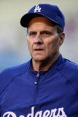 The MLB Rockies vs. Dodgers game — Stock Photo