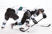 The National Hockey League game — Stock Photo