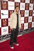 Troy Curvey III arrives at the Los Angeles Film Festival premiere — Stock Photo
