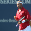 Leonardo Mayer and James Blake play a match - Foto de Stock  