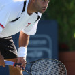 Benjamin Becker and James Blake play a match — Lizenzfreies Foto