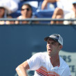 Janko Tipsarevic and Sam Querrey play a match - Stock Photo