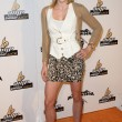 Stock Photo: Angel McCord arrives at Legend of HallowdegSpecial Screening