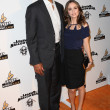 Rick Fox and Eliza Dushku arrive at The Legend of Hallowdega Special Screening — Stock Photo