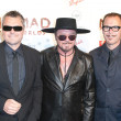 Australian rock band INXS arrives at the Nomad Two Worlds Los Angeles gala at 59 Pier Studios West — Stock Photo #14373371