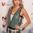 Canadian actress, former fashion model Estella Warren arrives at the Nomad Two Worlds Los Angeles gala at 59 Pier Studios West — Stock Photo #14373409