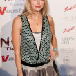 Canadian actress, former fashion model Estella Warren arrives at the Nomad Two Worlds Los Angeles gala at 59 Pier Studios West — Stock Photo