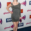 Sarah Drew arrives at the 22nd annual GLAAD Media Awards at Westin Bonaventure Hotel — Stock Photo