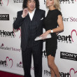 Musician Paul Stanley and Erin Sutton arrive at The Heart Foundation Gala at Hollywood Palladium — Stock Photo