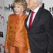 Kirk and Anne Douglas attend The Heart Foundation Gala at The Hollywood Palladium - Stock Photo