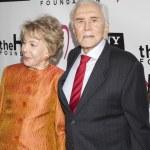 Постер, плакат: Kirk and Anne Douglas attend The Heart Foundation Gala at The Hollywood Palladium
