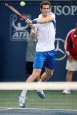 Andy Murray and Tim Smyczek play a match — Stock Photo