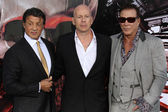 El estreno de hollywood expendables — Foto de Stock