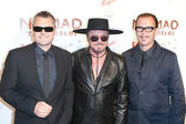 Australian rock band INXS arrives at the Nomad Two Worlds Los Angeles gala at 59 Pier Studios West — Stock Photo