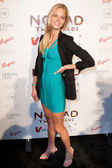 Victoria's Secret model Erin Heatherton arrives at the Nomad Two Worlds Los Angeles debut gala at 59 Pier Studios West — Stock Photo