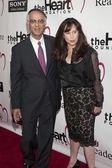P.K. Shah and Kimberly Shah arrive at the Heart Foundation Gala at the Hollywood Palladium — Stock Photo