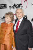 Kirk and Anne Douglas attend The Heart Foundation Gala at The Hollywood Palladium — Stock Photo