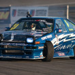Tommy Suell competes at Toyota Speedway during Formula Drift round — Stock Photo
