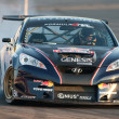 Rhys Millen competes at Toyota Speedway during Formula Drift round - Stock Photo