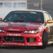 Ross Petty competes at Toyota Speedway during Formula Drift - Stock Photo